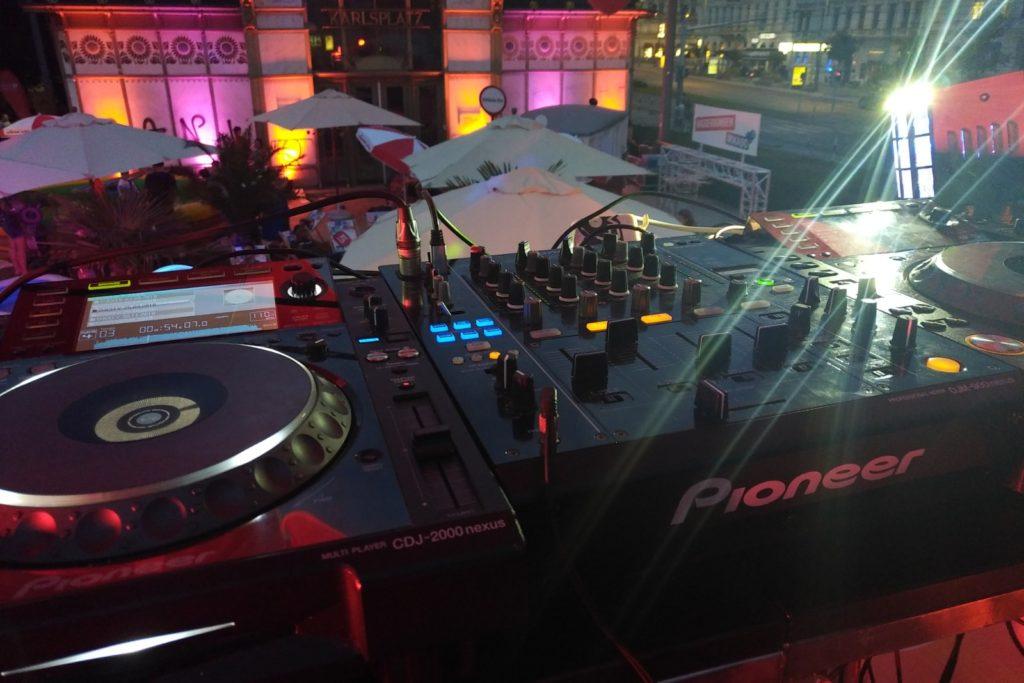 DJ Equipment Verleih Wien